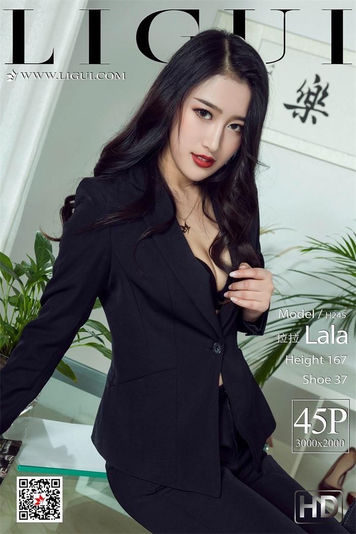 [Ligui丽柜]2019.04.29 Model《职场新秀》- 拉拉[45+1P/44M]